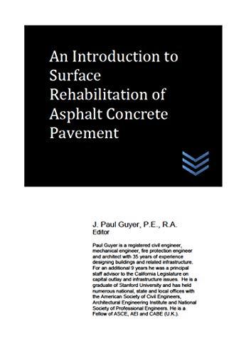 An Introduction to Surface Rehabilitation of Asphalt Concrete Pavement