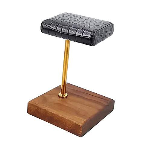 FITYLE Soporte de Reloj-Soporte de Cuero Hecho a Mano para Relojes de Pulsera Tanto para Hombres como para Mujeres-el Regalo de Lujo Oro Rod