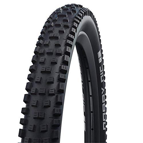 Schwalbe Nobby NIC HS602 - Neumático plegable (27,5 x 2,40', 62-584), color negro