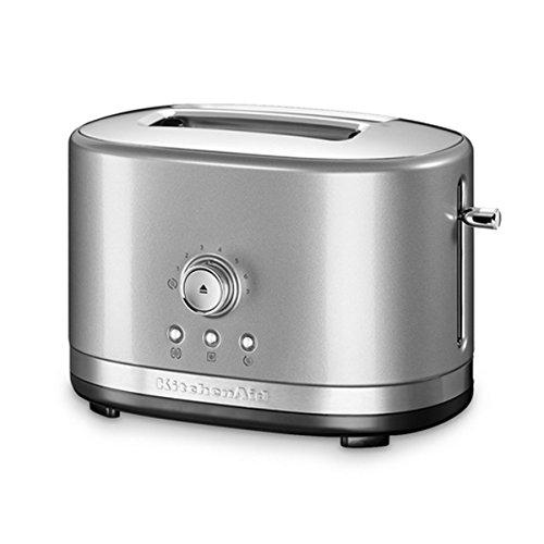 KitchenAid 5KMT2116ECU Manueller 2-er Toaster, silber