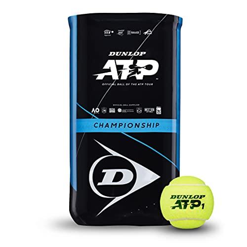 Dunlop Tennisball ATP Championship – für Sand, Hartplatz & Rasen (2x4 Bi-Pack)