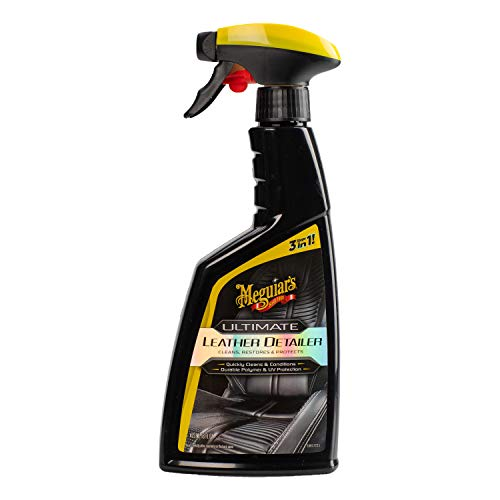 MEGUIAR'S G201316 Ultimate Leather Detailer, 16 Fluid Ounces