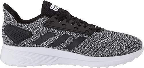 adidas Men's Duramo 9 Running Shoe, Core Black/Core Black/Footwear White, 10.5 M US