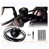 Cadena de Motocicleta Lubricador Oilero Cadena de engrasador Sistema de lubricación (Color : A)