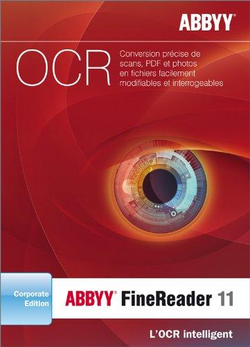 ABBYY FineReader 11 - Edition Corporate [Téléchargement]