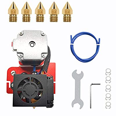 SNOWINSPRING 3D Printer Extruder Drive Direct Feed Hot-End Kit with 0.4mm Nozzle 24V for Creality Ender-5/5S 3D Printer