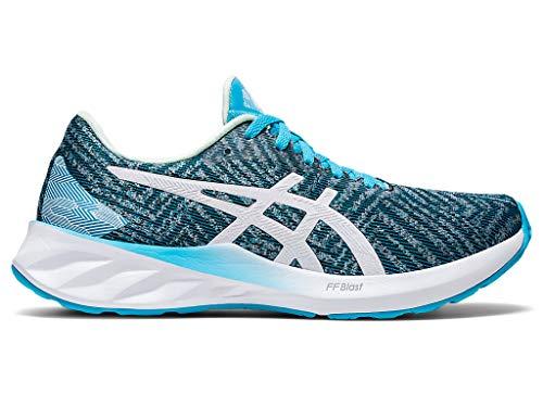 ASICS Women s Roadblast Running Shoes, 9M, Aquarium White
