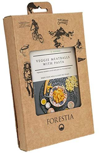 Forestia, Plato a base de sucedáneo de la carne envasado (Albóndigas vegetales y pasta) - 4 de 350 gr. (Total 1400 gr.)