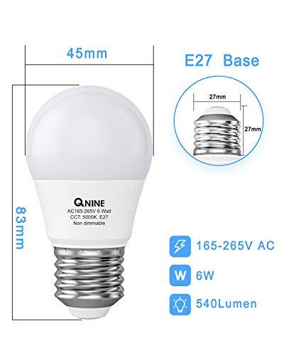 QNINE Bombillas LED