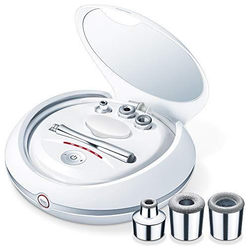 Beurer FC 100 Mikrodermabrasionsgerät, Gesichtspeeling mit Anti Aging Wirkung und Unterdruckmassage, Gesichtsreinigung für zuhause
