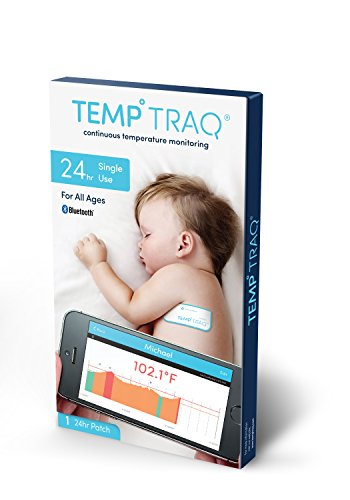 Read About TempTraq 24-Hour Intelligent Baby Fever Monitor with Wireless Alerts (iOS & Android) - FD...