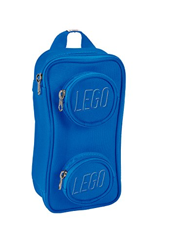 LEGO Kids' Brick Pouch, Blue, One Size