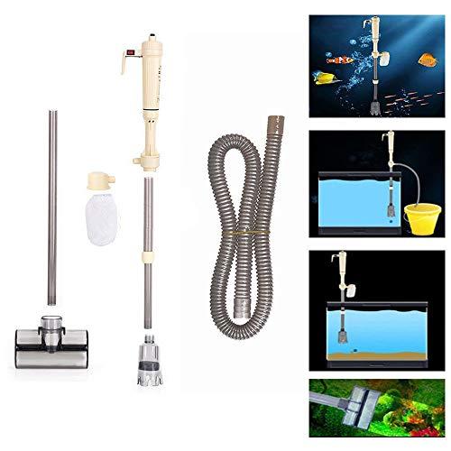 Aspirateur électrique pour aquarium, aspire le gravier, nettoie les siphons, filtres, pompes