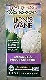 HOST DEFENSE Lion's Mane Brain & Nerve Support, 60 CT