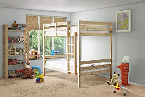 STRICTLY BEDS & BUNKS - Everest Classic Bunk Bed, 4ft 6 Double