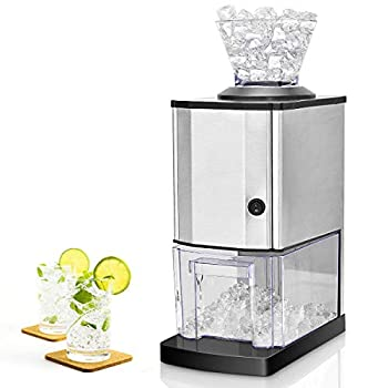 Nightcore Electric Ice Crusher Ice Crushed Machine with Stainless Steel Ice Crusher Idea for Home Party and Gathering