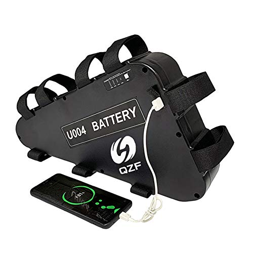 QZF 52V 20AH Ebike Battery, Lithium ion Bike Battery, E-Bike Lithium Battery 52V, Electric Bicycles Battery, E-Bicycles Battery for 1000W/750W/500W Bike Motor Kit