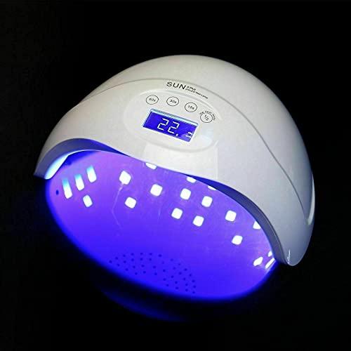 ATIN 48W UV LED SUN5 esmalte de uñas secador lámpara gel uñas acrílico cura luz manicura spa