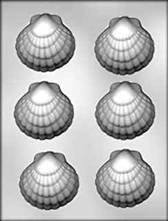 CK Products 3-Inch Seashell Chocolate Mold