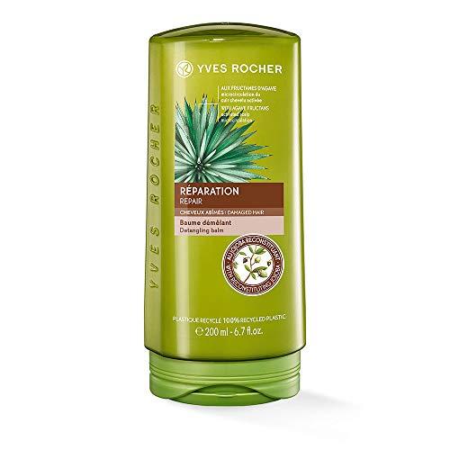 Yves Rocher PFLANZENPFLEGE HAARE reparierende Spülung, Conditioner Repair & Pflege, für strapaziertes Haar, 1 x Flacon 200 ml