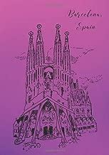 Barcelona, Spain: 7x10 Travel Journal