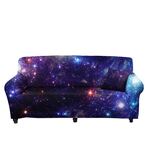 HXTSWGS Fundas Estilo Jacquard para sofá,Funda de sofá elástica 3D, Funda de cojín de sofá con Estampado Crema-Color5_190-230cm