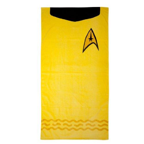 Unbekannt Star Trek Badetuch Mr. Spock 75x150cm Baumwolle blau