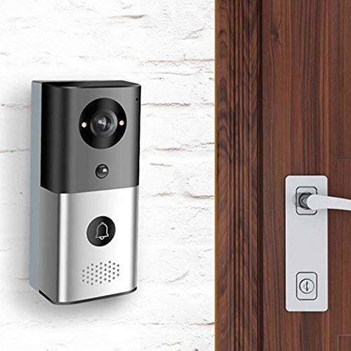 Video deurbel Pro Kit met Chime, 720p HD twee-weg gesprek, Wi-Fi Motion Detection, PIR Motion Detection en App Control