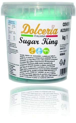 Pasta di Zucchero 1 KG - AZZURRO BABY