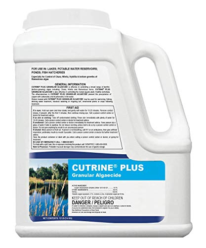 APPLIED BIOCHEMISTS Cutrine-Plus Granular Algaecide, 12 lbs