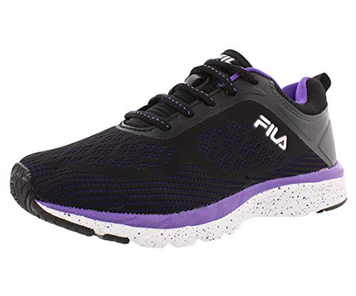 Fila Memory Outreach Running Women's Shoes Size 7 Black/Purple