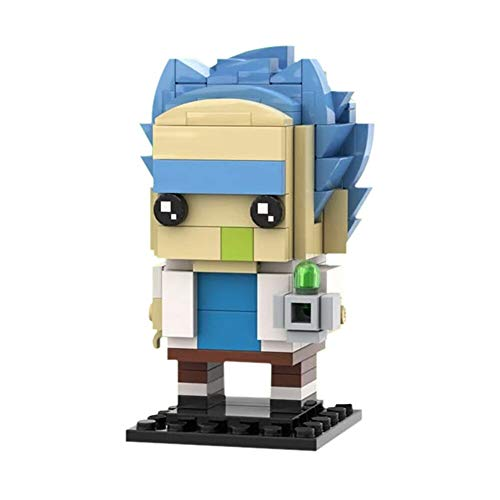 Haus Dekoration Moc BrickHaadz Rick Sci-Fi Anime Doctor Action Figuren Bausteine ​​Ziegelsteine ​​Spielzeug for Kinder (Color : C4605)