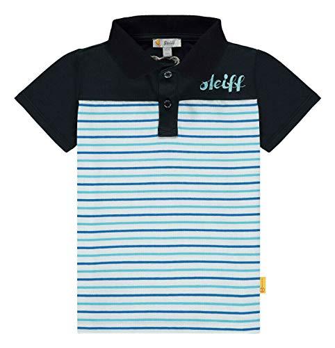 Steiff Jungen Poloshirt, Weiß (Bright White 1000), 92 (Herstellergröße: 092)