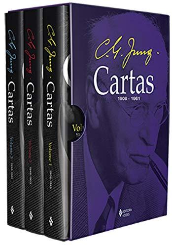 Cartas de C. G. Jung - Caixa 3 volumes
