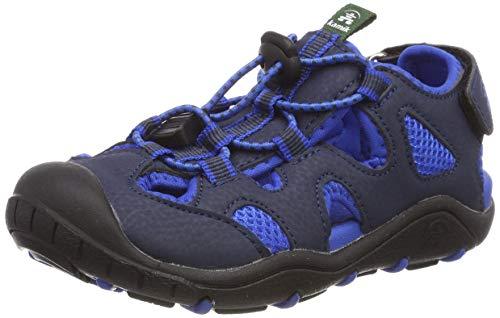 Kamik Unisex-Jungen Oyster2 Geschlossene Sandalen, Blau (Navy/Blue Nav), 34 EU