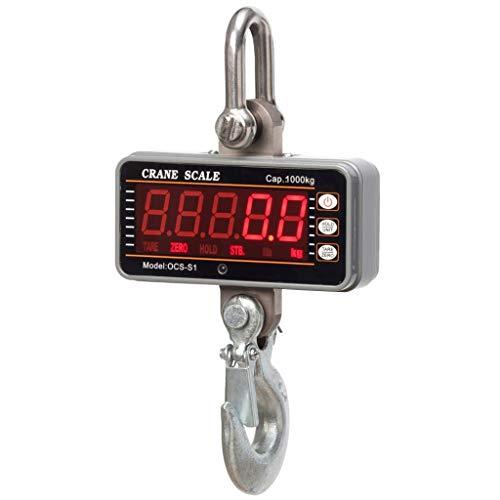QLL afstandsbediening digitaal aantal kraanweegschaal, weegschaal, gewicht tot 1000 – 2000 kg, multifunctionele weegschaal, met Tara-functie, nauwkeurig wegen