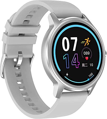 YQCH Smart Watch Monitor de Ritmo cardíaco Monitor de la presión Arterial Monitor de la presión del Mensaje Sport Sport Watch Rack Tracker con podómetro Calorie Step CounterWatch para Android iOS