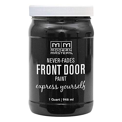 Modern Masters 275266 Front Door Paint, 1 Quart, Satin Elegant