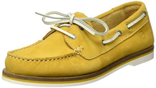 Tamaris Damen 1-1-23616-22 604 Sneaker Gelb (SUN NUBUC 604), 39 EU
