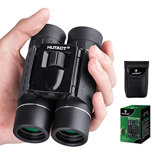 Binocolo 10X25 per bambini Binocolo compatto tascabile pieghevole per adulti Mini telescopio da viaggio leggero impermeabile HD BAK4 Lenti ottiche per caccia Bird Watching Giocare