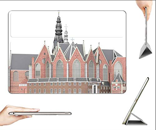 Case for iPad Air 3 (3rd Gen, 10.5-inch 2019) - Oude Kerk Amsterdam Architecture Building Church 3