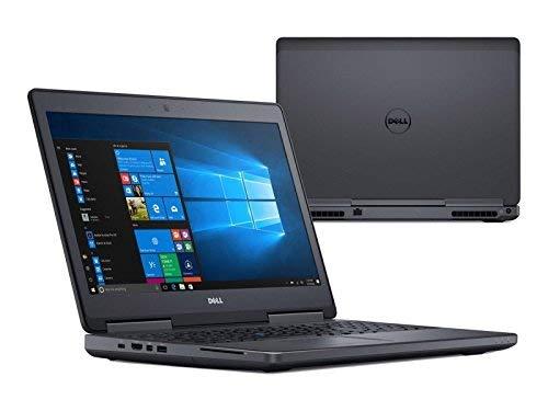 Dell Precision 7510 FHD 15.6 inches Workstation Business Laptop (Intel Quad Core i7-6820HQ, 16GB Ram, 512GB SSD, HDMI) NVIDIA Quadro M1000M 2GB GDDR5 (Renewed)