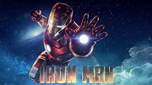 GUANGMANG Posters De Películas De Iron Man: Póster De Película Picture-K Rompecabezas...
