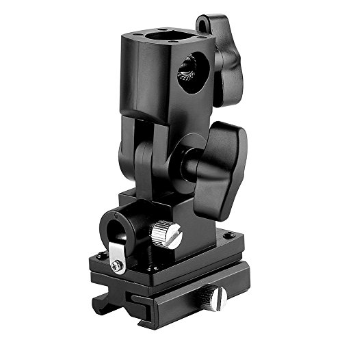 Neewer 2x Flash/Shoe/Umbrella Mount/Holder/Bracket Type B For All hot-shoe flashes except Sony and Minolta Brands