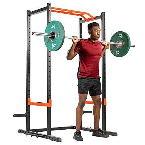 Sunny Health & Fitness Power Zone Strength Rack Power Cage -...