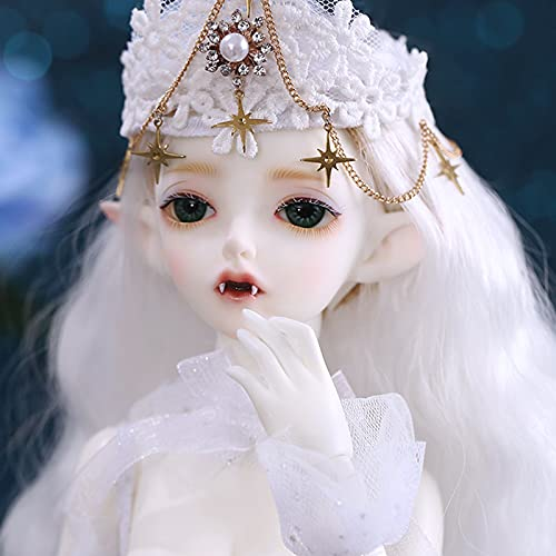CCCYT 1/4 SD Doll 16' Jointed Gift BJD Doll +Makeup +Full Set Lovers' Gift