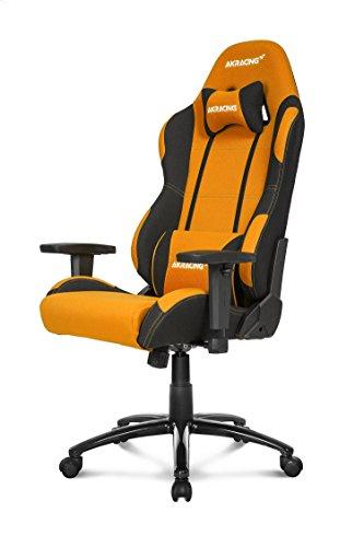 AKRacing Prime - AK-K7018-BO - Silla Gaming, Color Negro/Naranja