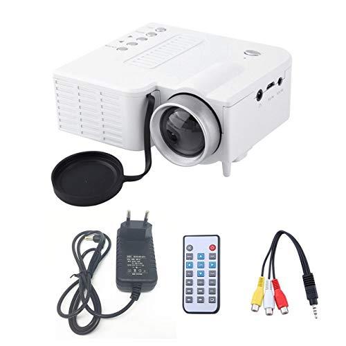 Ballylelly UC28A tragbarer LED Projektor 1080P Multimedia Heimkino Theater USB TF HDMI AV LED Beamer Projektor für den Heimgebrauch