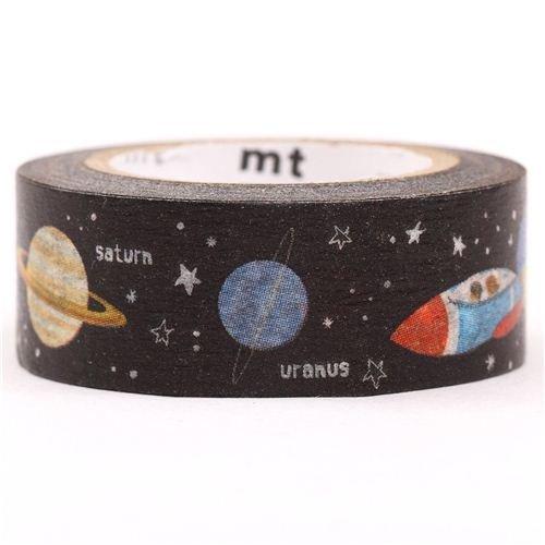 Galaxie Weltraum Universum mt Washi Masking Tape Klebeband