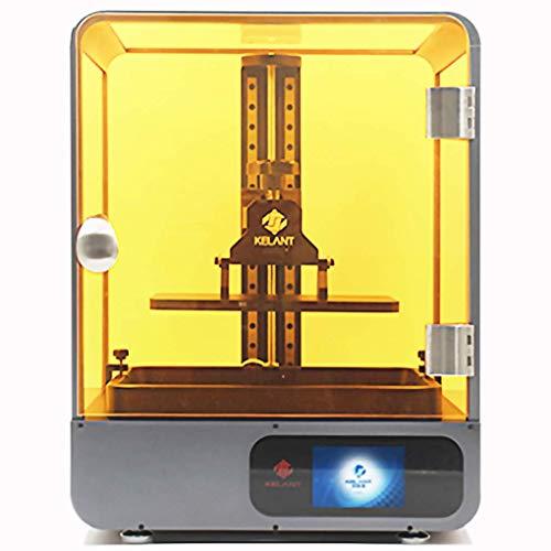 """KELANT S500 Mono 3D Printer, LCD Resin Printer with 4K Screen, Z-axis Dual Linear Rail, Matrix Light Source, Printing Size 7.55""""(L) x 4.72""""(W) x 7.87""""(H)"""